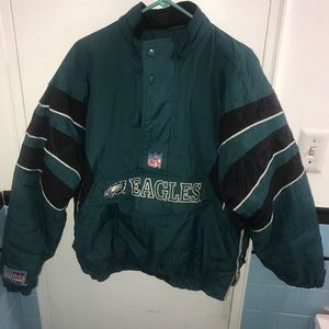 sneakers for cheap ab62e 297c2 Eagles super bowl starter Jacket